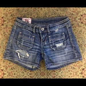 🎁3/$20🎁1st KISS Distressed Denim Jean Shorts